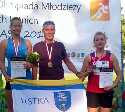 Po prawej - Joanna Markowska
